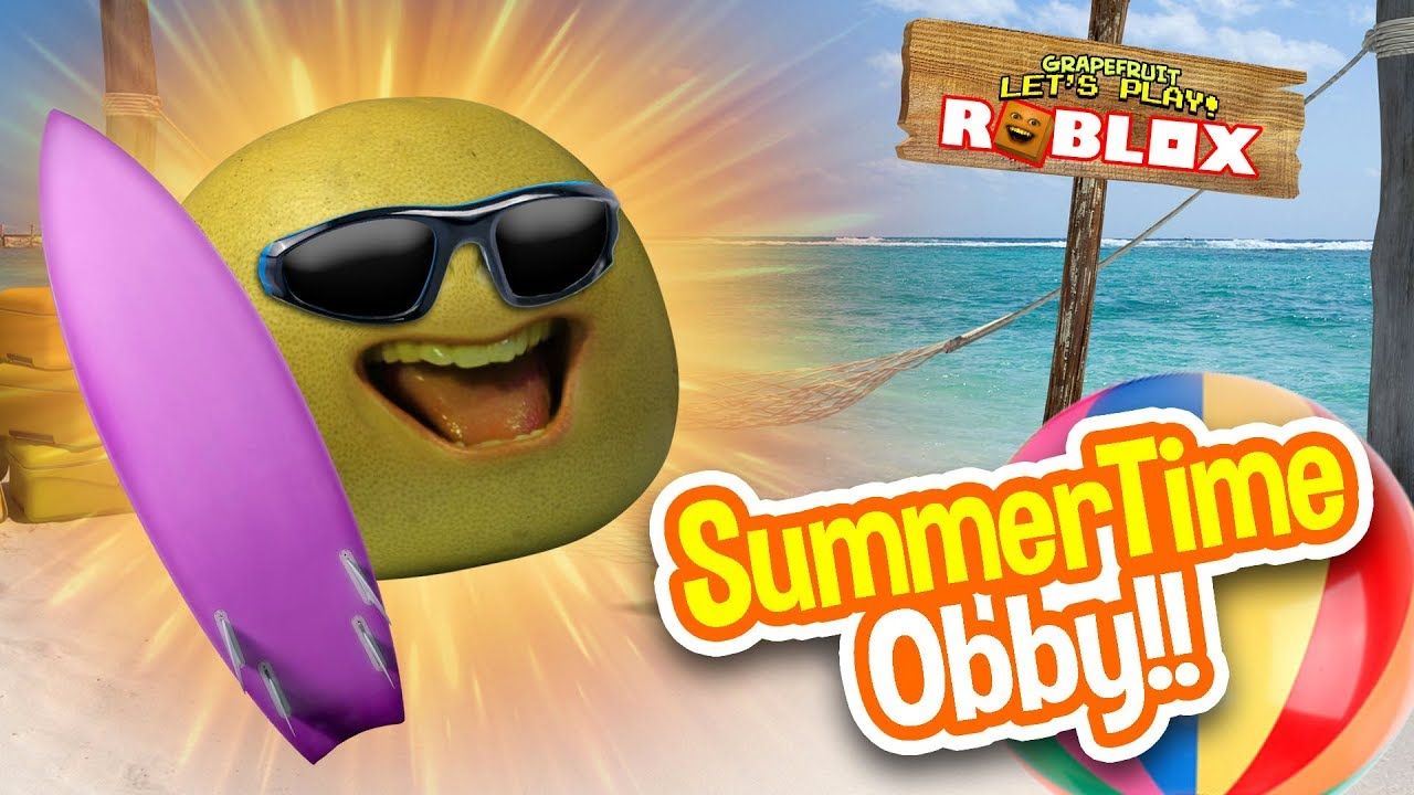 Buttman Vacation grapefruit escapes - summer time obby!! | roblox