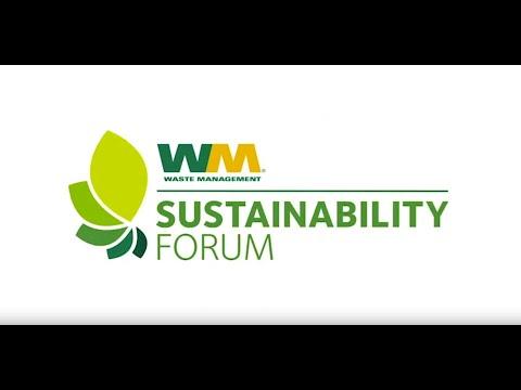 2019 Waste Management Sustainability Forum