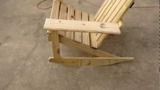 Adult size Adirondack rocker I built. Yes they are for sale. I will put up a how to video soon.
