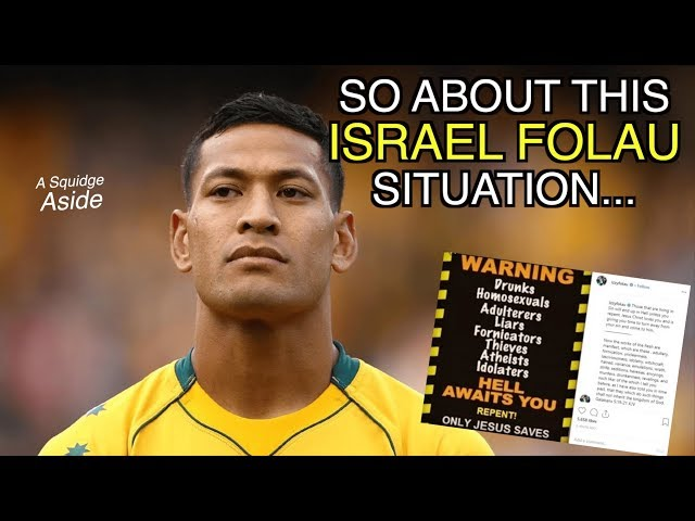 So about this Israel Folau situation | A Squidge Aside