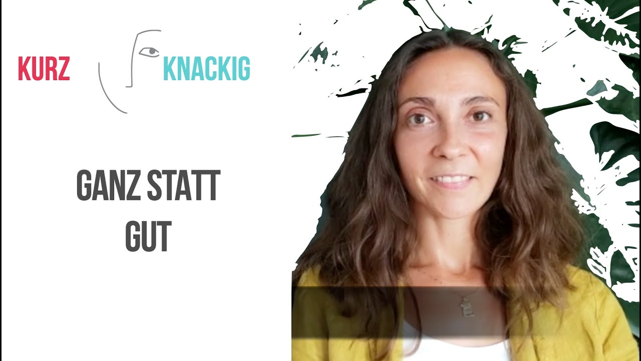 YouTube Reihe: Kurz & Knackig