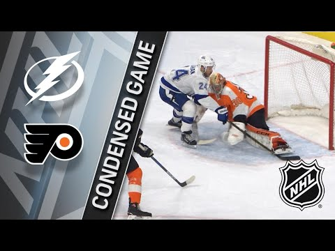 01/25/18 Condensed Game: Lightning @ Flyers