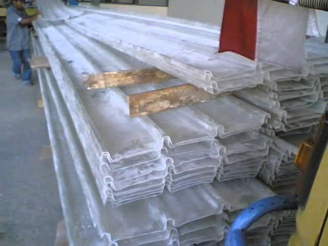 Talang Air Gutter, Atap Gelombang Transparan Fiberglass