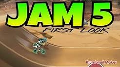 MAD SKILLS BMX 2 - JAM WEEK 5 - FIRST LOOK + FASTEST TIMES