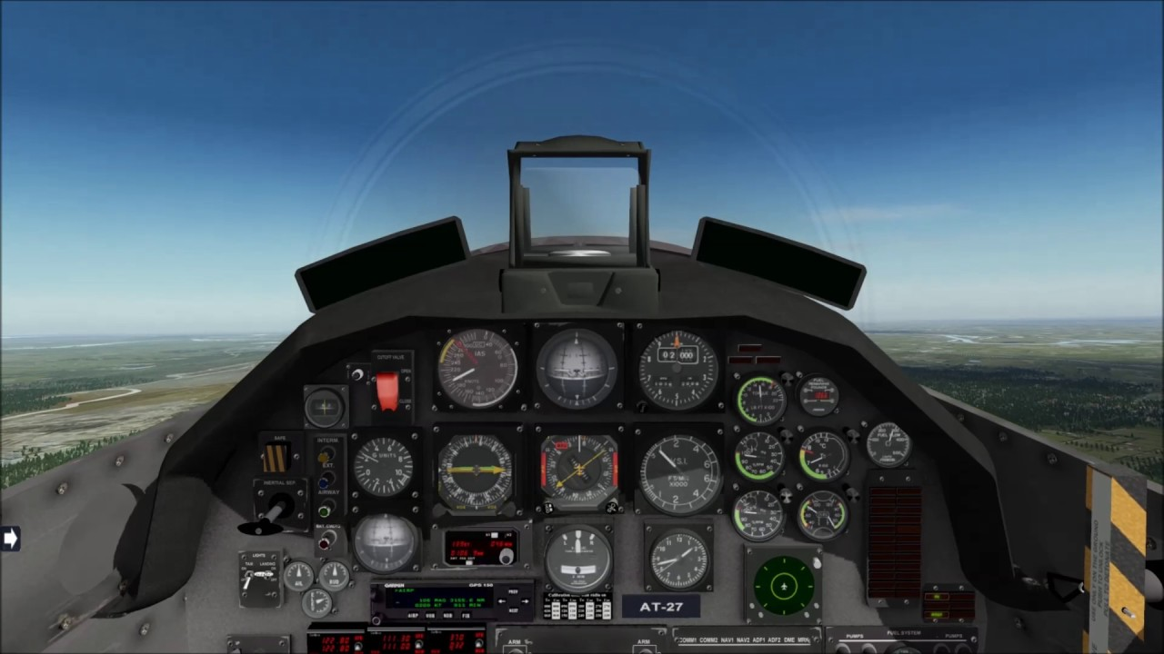 X-Plane 10: BFDG Embraer EMB-312 Tucano by GoneOutFlying
