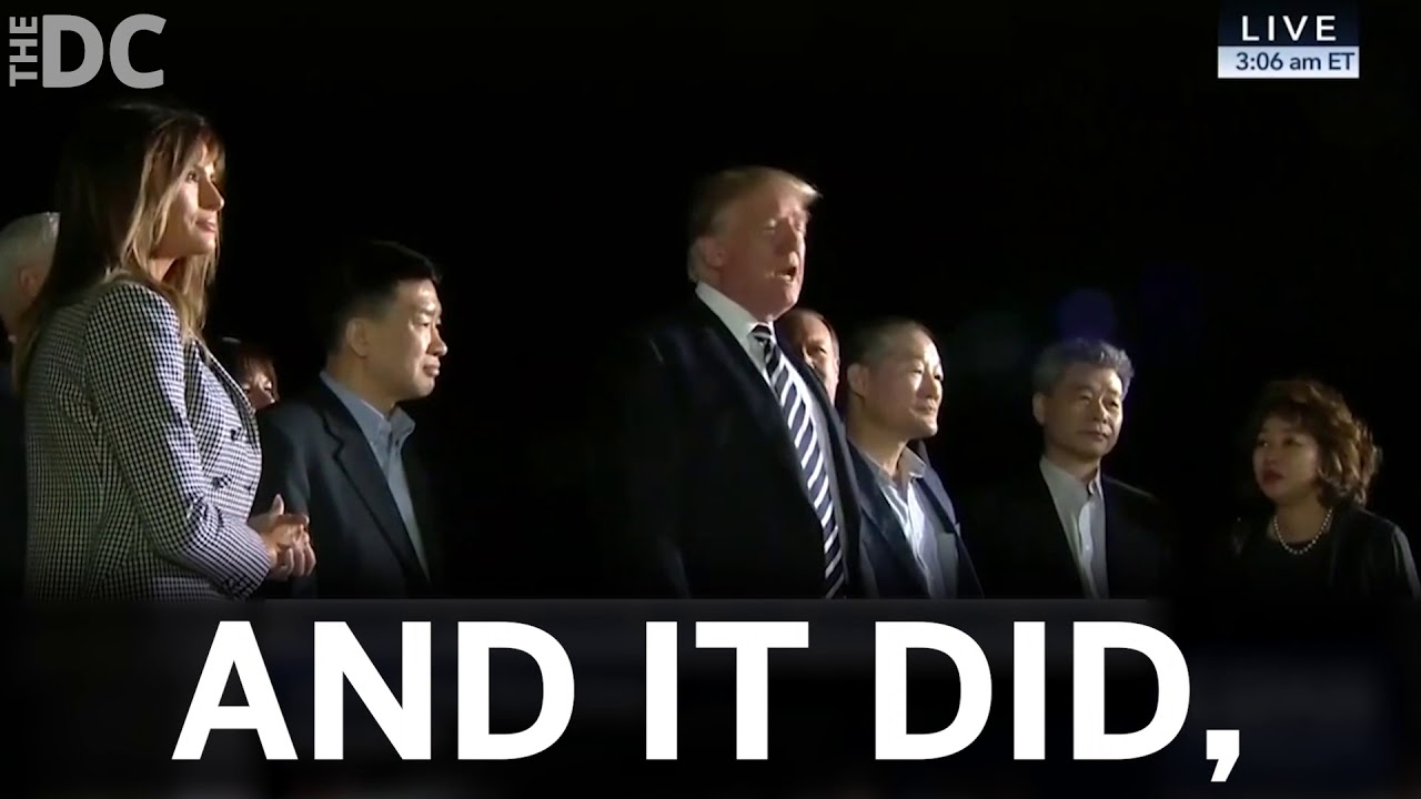 DOUBLE WIN: Trump Saves 3 Hostages AND Rips NYT For Fake News