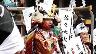 三島夏祭り2011頼朝公行列・風間トオル 2011年8月16日 俳優・風...