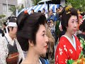 2017しながわ宿場まつり『江戸風俗行列&交通安全パレード』