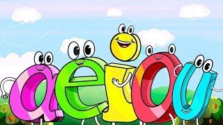 LA RISA DE LAS VOCALES, canciones infantiles, TOY CANTANDO thumbnail