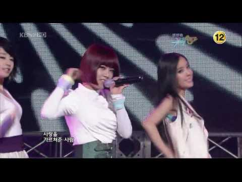 090918 T-Ara & SuperNova - T.T.L(Time To Love) (HD)