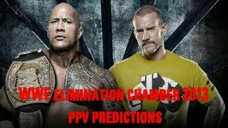 WWE Elimination Chamber 2013 PPV Predictions