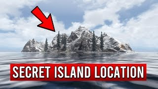 Skyrim Secret Island Location - New DLC added by Bethesda!