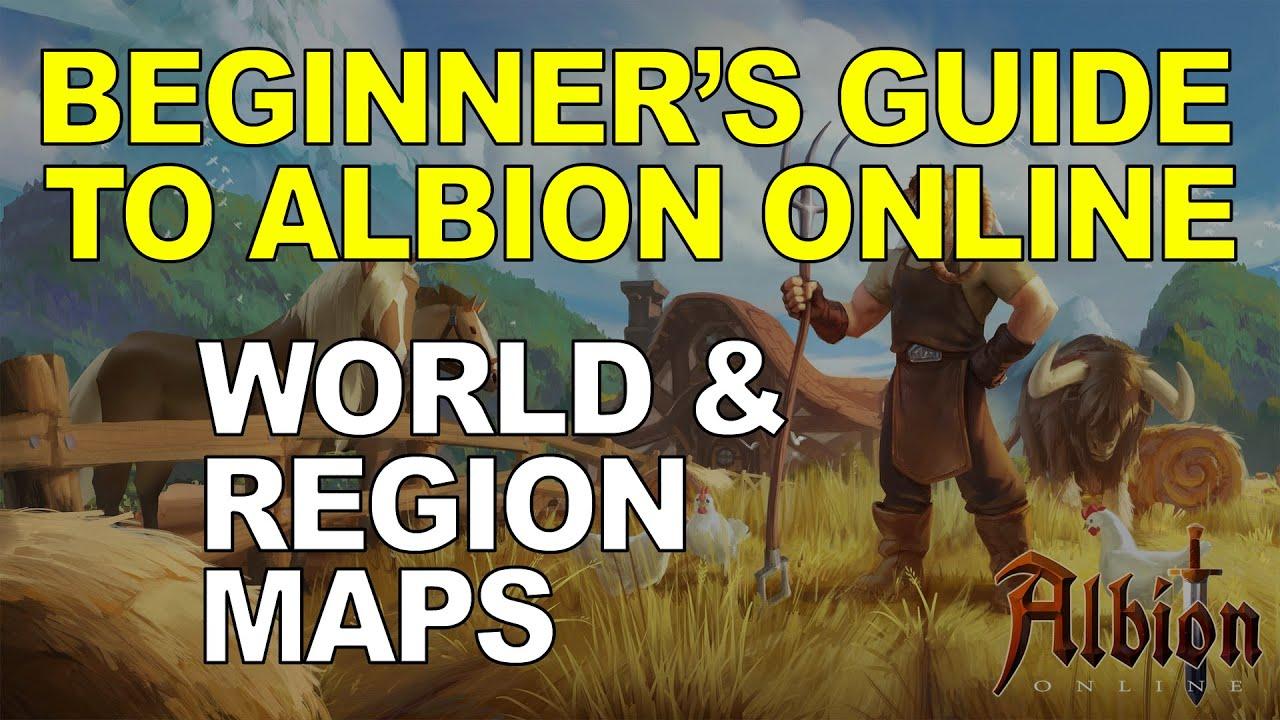 Beginner S Guide To Albion Online World Region Maps Youtube