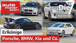 Porsche-Sauger, Jaguar-Dickschiff, Elektro-Hyundai und Co.: 7 spannende Erlkönige   auto motor sport
