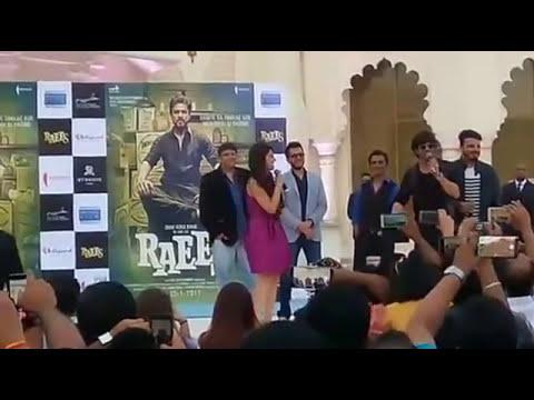 Raees promotion in Dubai - Shahrukh khan