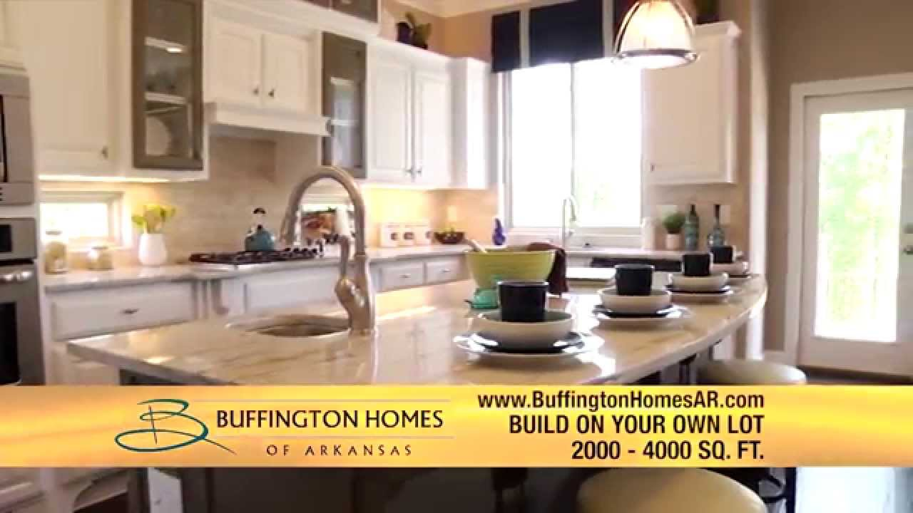Buffington homes of arkansas build on your own lot youtube for Building your dream home on your own lot