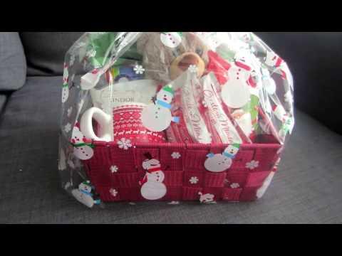 Simple Chocolate Christmas Basket!