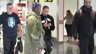 'TYGA exclusive walk thru Melbourne Airport, Australia' 10/3/18