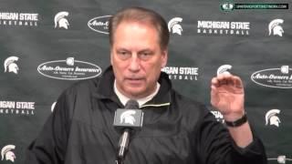 Tom Izzo Press Conference 2/2/16 Previewing Michigan