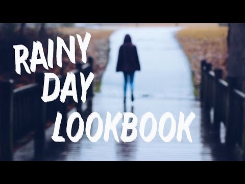 RAINY DAY LOOKBOOK 2017 // Elly's Avenue