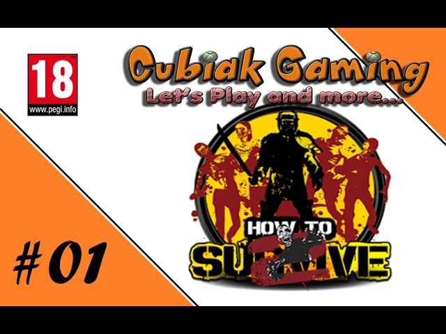 NEGAN KANN EINPACKEN! ★ Let's Play How To Survive 2 #01