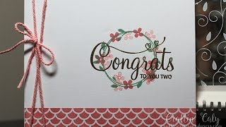 Your Perfect Day - Wedding Card