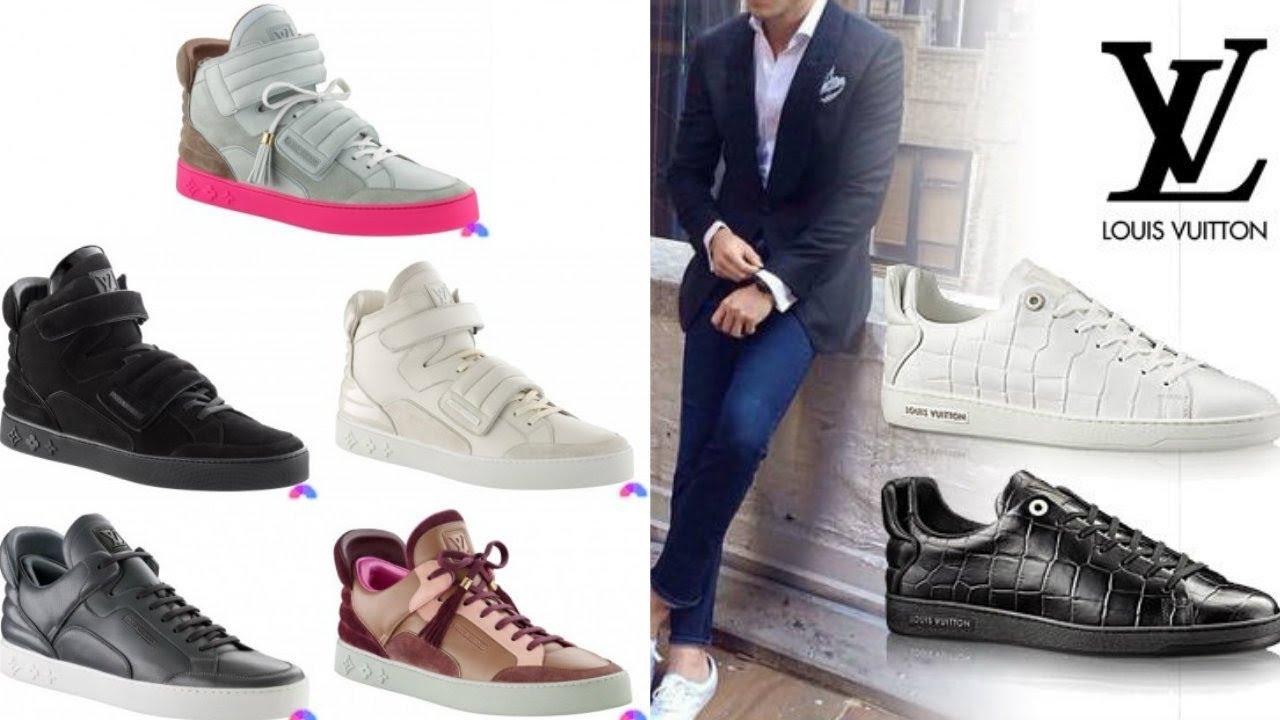 35332978e2b Louis Vuitton 2018 Shoes Collection Men - YouTube