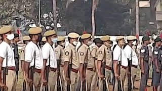R-Day 2021: Cops, NCC cadets, school students participate in final rehearsals in Visakhapatnam