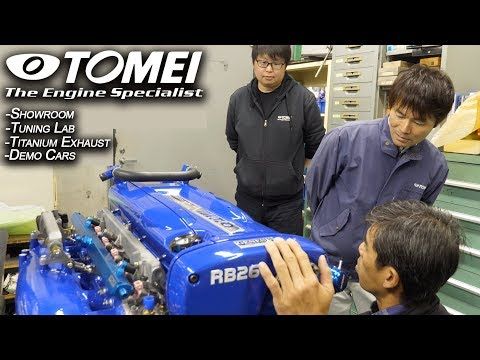 Tomei Powered Opens The Doors; The Technology Behind Legendary JDM  Racing Constructor | JDM Masters