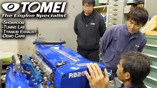 video thumbnail of Tomei Powered Opens The Doors; The Technology Behind Legendary JDM  Racing Constructor | JDM Masters