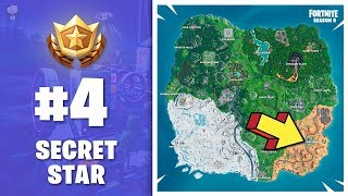 ⭐ WEEK 4 Season 9 - HIDDEN BATTLE STAR (secret Banner) - Fortnite S9