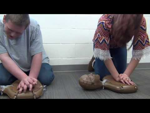 Capital City High School CPR Training