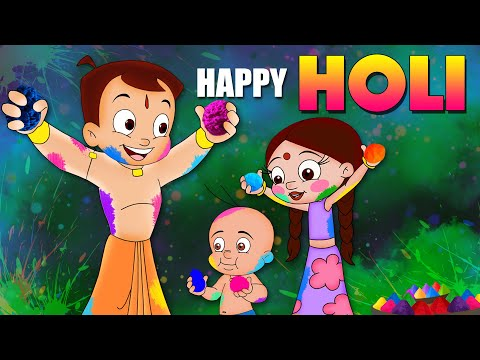 Chhota Bheem - Dholakpur ke Dhamakedaar Holi | Holi Special Video song