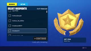 Weekly giveaways - Fortnite Battle Royal - Subscribe now