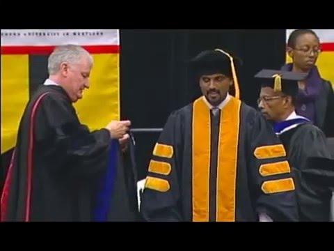 UMBC Winter 2015 Graduate Commencement Ceremony