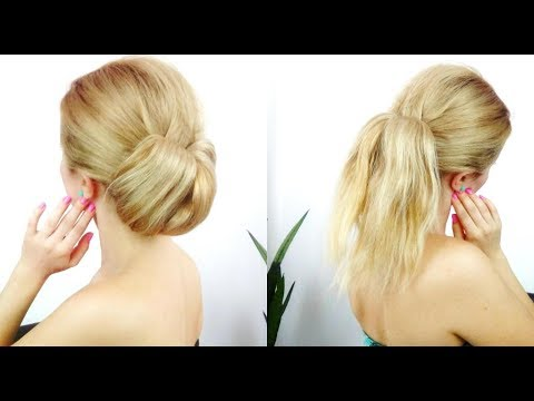 super easy hairstyles for summer easy ponytail and cute