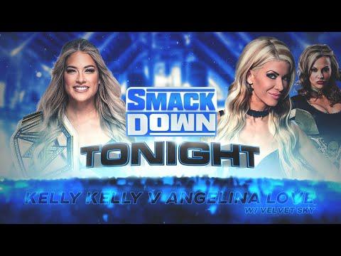 WWE 2K20 Universe Mode  - SDL - Kelly Kelly v Angelina Love w Velvet Sky