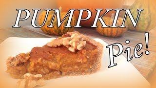 Healthy Pumpkin Pie | Cheap Clean Eats
