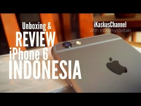 Unboxing & Review iPhone 6 Indonesia
