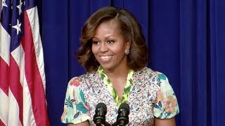 Repeat youtube video First Lady Michelle Obama Speaks at a Screening of