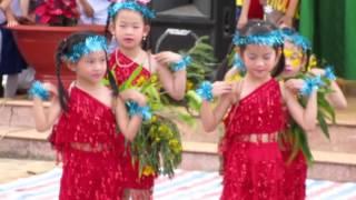 múa cô giáo em là hoa eban Trường Lê Hồng Phong lớp 3a Gia Nghĩa daknong