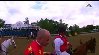 Justify jockey Mike Smith thanks Jesus Christ for Triple Crown Win