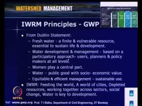 Mod-03 Lec-08 Integrated Water Resources Management