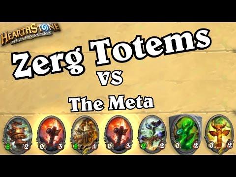 Zerg Totems Decklist ~ Hearthstone Heroes of Warcraft Blackrock Mountain with WOWHOBBS