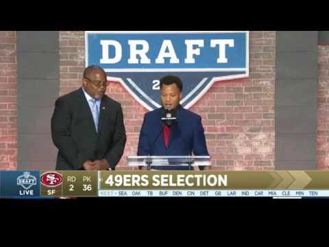 SF 49ers 2019 Round 2 pick Shocker!
