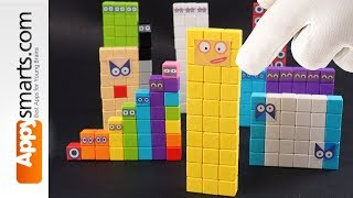 Our New Magnetic Numberblock 30 ( crafts and math project for kids)
