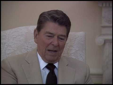 President Reagan's Interview with John Casserly, on Barry Goldwater, on July 8, 1986
