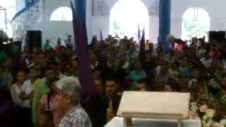 VIERNES SANTO REFLEXION CON LA MUERTE PARROQUIA LOURDES TACHIRA VENEZUELA