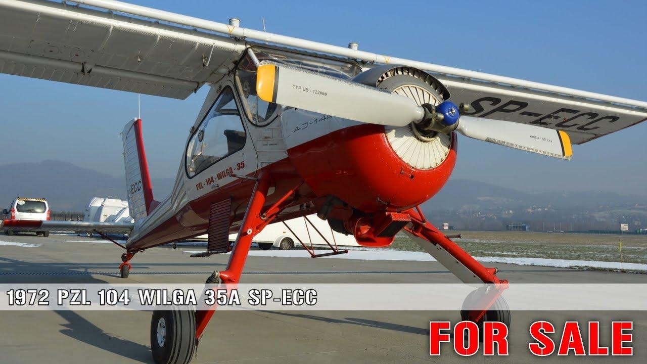 PZL 104 Wilga 35A SP-ECC FOR SALE