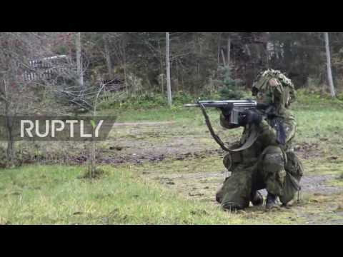 Estonia: 500 Estonian troops trained by US forces in military drills